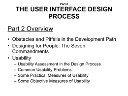 The Essential Guide to User Interface Design Second Edition