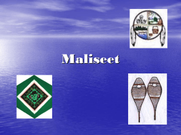 Maliseet