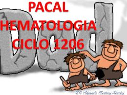 PACAL HEMATOLOGIA CICLO 1206