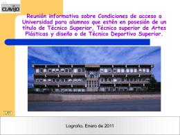 PAU 0910 - Bienvenidos a la web del IES Batalla de Clavijo