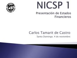 NICSP 1 - captac