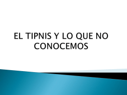 El TIPNIS no es lo que se ve