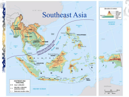 Southeast Asia - DePaul University GIS Collaboratory