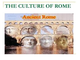 Aqueducts of Rome