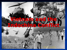 Vietnam and the Indochina Conflict