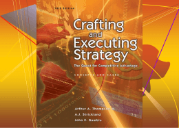 Crafting and Executing Strategy 14e