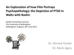 An Exploration of how Film Portrays Psychopathology: the