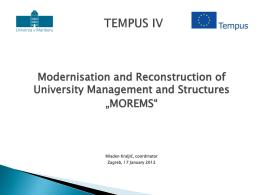 TEMPUS IV - mobilnost