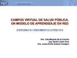 Diapositiva 1 - Facultad de Medicina UNAM