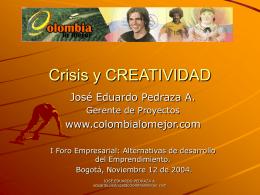 Crisis y CREATIVIDAD