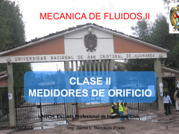 MEDIDORES DE ORIFICIO