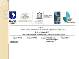 Diapositiva 1 - Bienvenidos a Facultad Latinoamericana de