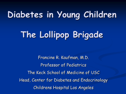Update on Treatment of Type 1 Diabetes in Children