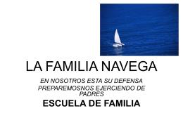 LA FAMILIA NAVEGA