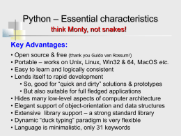 Introduction to Python - Virginia Commonwealth …