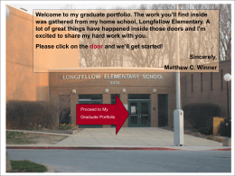N. Katherine Standard's Exit Portfolio