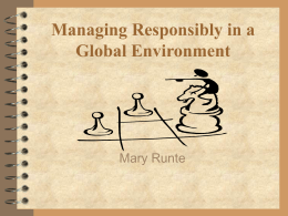 Business Ethics & Social Responsibility: How to Improve