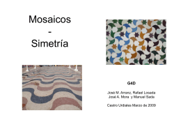 Mosaicos - I.G.C. - Instituto GeoGebra de Cantabria