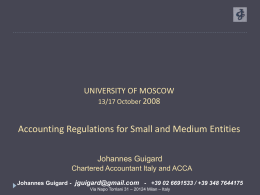 Moscow University SMEs