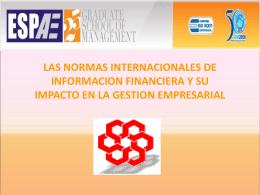 Diapositiva 1 - ESPAE La Primera Escuela de Negocios del