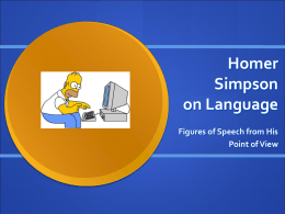 Homer Simpson on Language