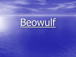 Beowulf - Wikispaces