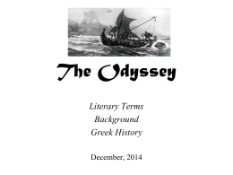 The Odyssey - Dearborn Public Schools