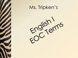 Ms. Tripken's