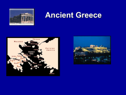 PowerPoint Overview of Ancient Greece