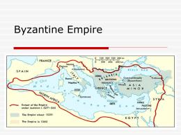 Byzantine Empire - Arlington Public Schools
