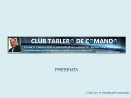 Diapositiva 1 - Balanced Scorecard, Cuadro de Mando