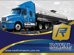 Diapositiva 1 - Royal Transports
