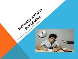 Acoso laboral - Salud Ocupacional SENA 2013