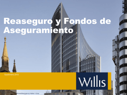 Willis Re - Introduction to Reinsurance