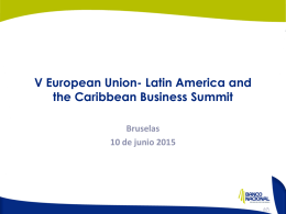 V European Union- Latina America and the Caribbean