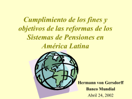 Pension Reform: Next Steps in Latin America