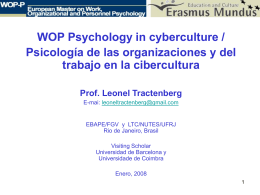 WOP Psy and cyberculture