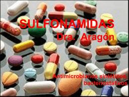 Sulfonamidas - Farmaco2 Dr:Matamoros
