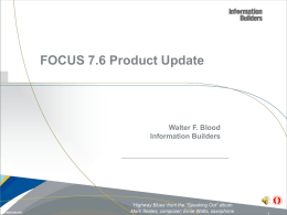 FOCUS 7.6 Product Update