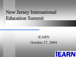 iEARN - New Jersey
