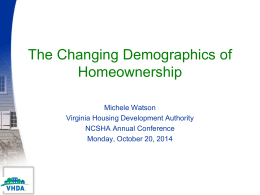 VHDA Virginia Housing Development Authority