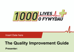 The Quality Improvement Guide
