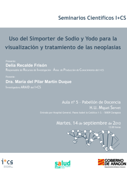Diapositiva 1 - Sector Zaragoza II