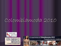 Colombiamoda 2010