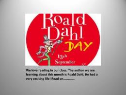 Roald Dahl - Seomra Ranga