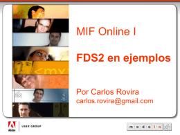 FDS en ejemplos