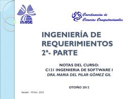 Ing. Requerimientos