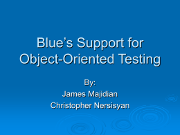 Support for Object