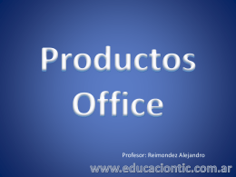 Productos Office