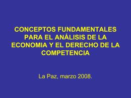 ESTRUCTURAS DE MERCADO (II)
